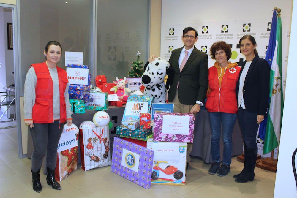 Campaña juguete 2018 Colegio seguros Malaga