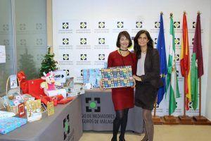 Campaña juguete 2018 Colegio seguros Malaga Arag