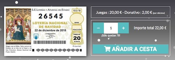 Colegio de mediadores de seguros de Málaga lotería 2018