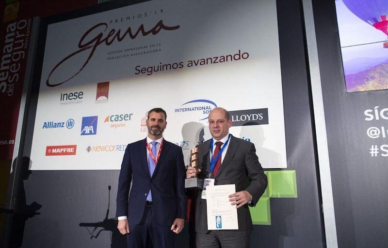 El colegio de seguros Malaga en los premio Gema 2019