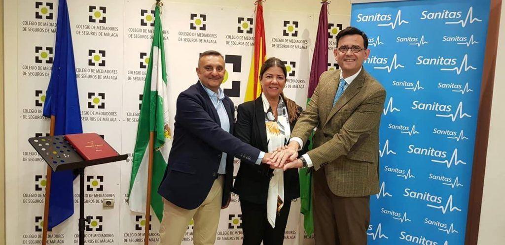 colegio seguros malaga acuerdo Sanitas 2019