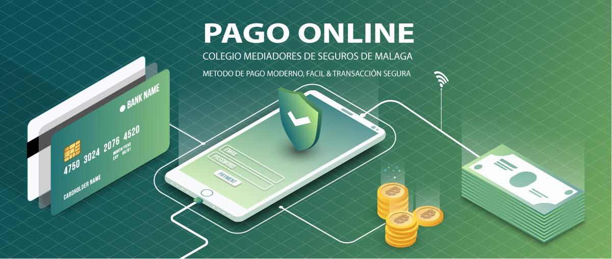Colegio de mediadores de seguros de Málaga- Plataforma de pago